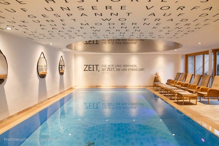 Hotel Staudacherhof Innenpool Garmisch-Partenkirchen