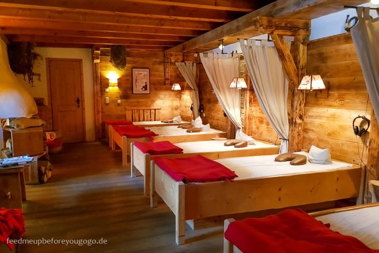 Hotel Staudacherhof Garmisch-Partenkirchen Spa Stille Alm Ruheraum