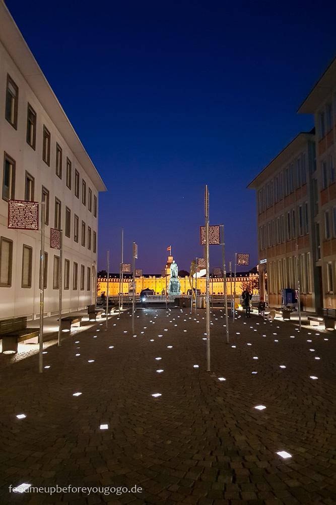 Reisetipps Karlsruhe Platz der Grundrechte