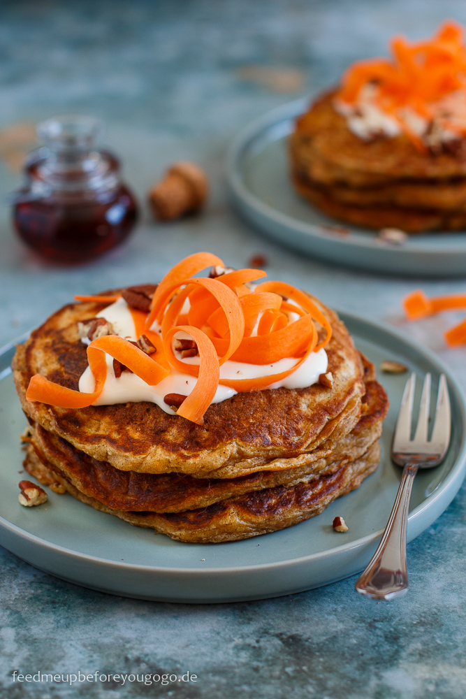 Carrot Cake Pancakes Rezept