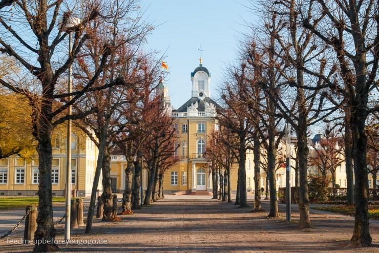 Allee zum Karlsruher Schloss