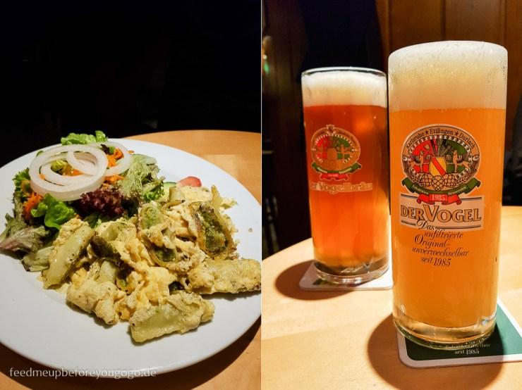Vogelbräu Bier und Maultaschen Karlsruhe kulinarische Tipps