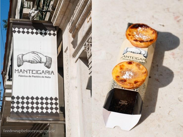 Lissabon kulinarische Tipps Manteigaria Pasteis de nata