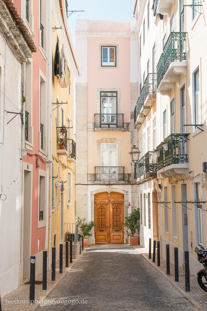 Lissabon kulinarische Tipps Häuser Bairro Alto