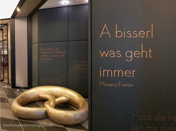 Hotel Andaz München Schwabinger Tor goldene Breze