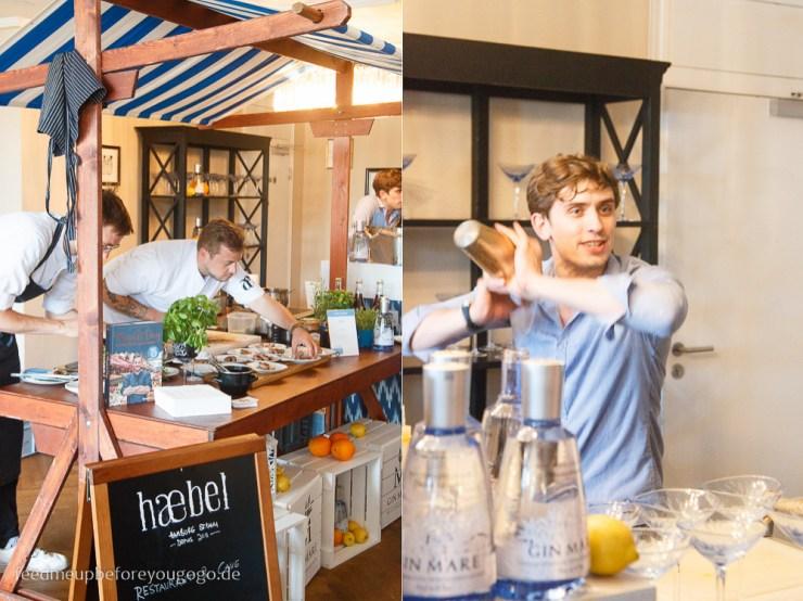 Haebel Hamburg MedTransfers Food-Pairing-Festival von Gin Mare in München