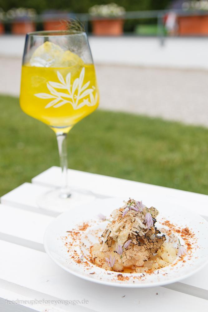 Handkästatar von Blumen Frankfurt MedTransfers Food-Pairing-Festival von Gin Mare in München