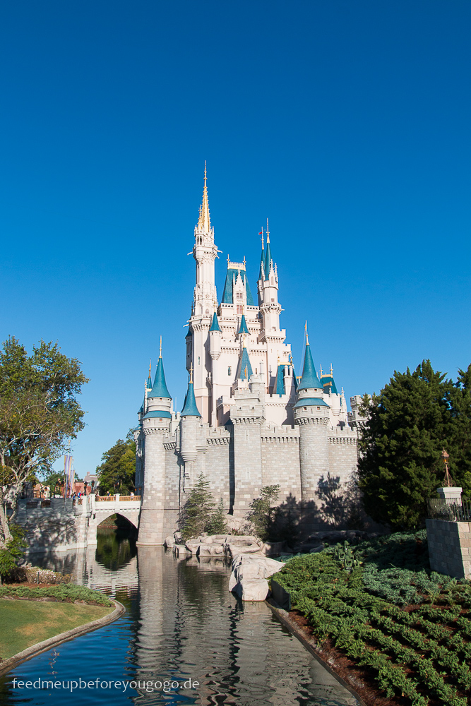 Cinderella Schloss im Magic Kingdom Walt Disney World Orlando Florida