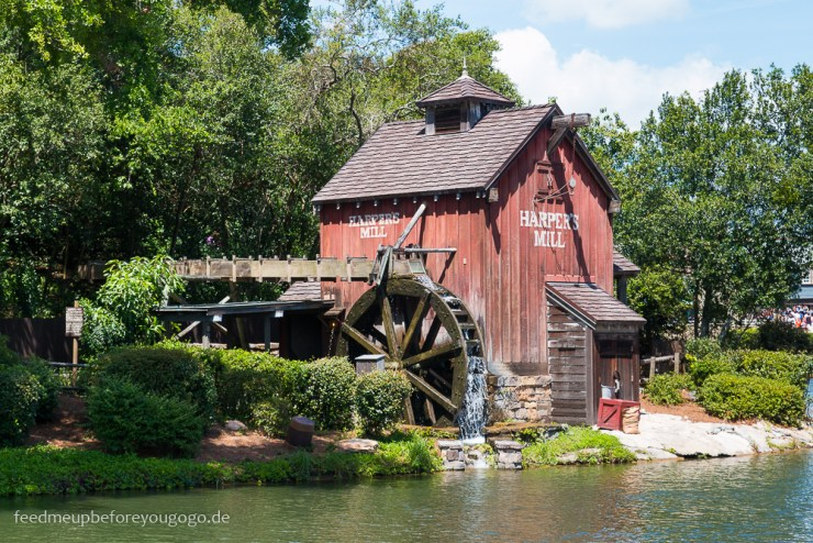 Harpers Mill im Magic Kingdom Walt Disney World Orlando Florida