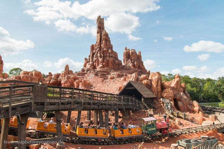 Big Thunder Mountain Achterbahn im Magic Kingdom Walt Disney World Orlando Florida
