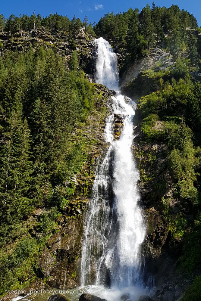 Stuibenfall Wasserfall im Ötztal, Tirol
