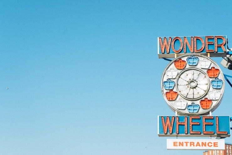 Wonder Wheel auf Coney Island / Foto von The Happy Jetlagger