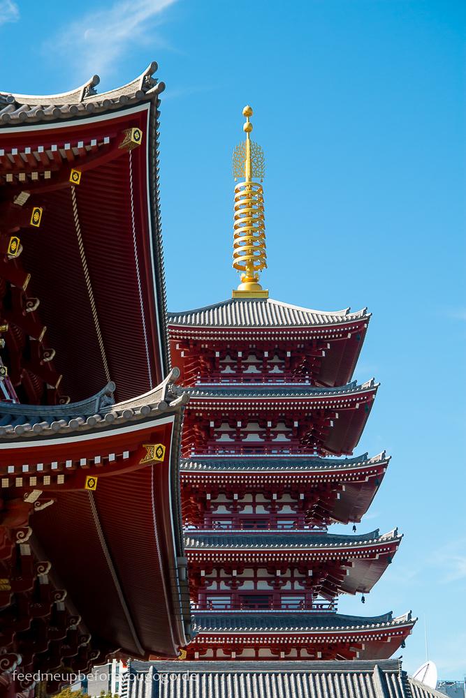 Tempel in Asakusa, Tokio - Basics für die Reiseplanung. Tipps für Reise nach Japan