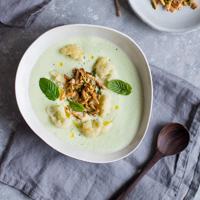 Gurken-Ingwer-Suppe