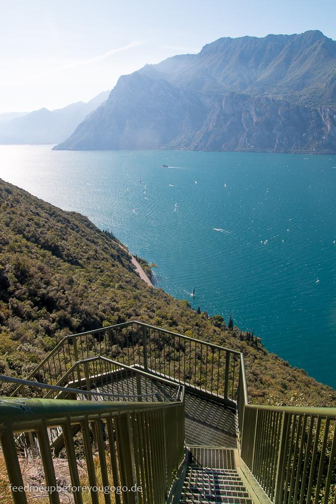 Reisetipps für den Gardasee: Wandern in Torbole Busatte Tempesta