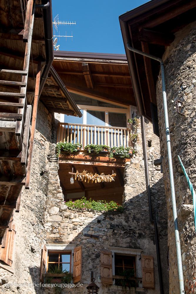 Tipps für den Gardasees: mittelalterliches Dorf Canale