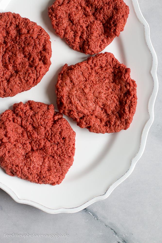 Vegane Seitanpatties für Burger Rezept