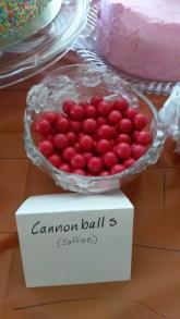 Jaffa Cannonballs