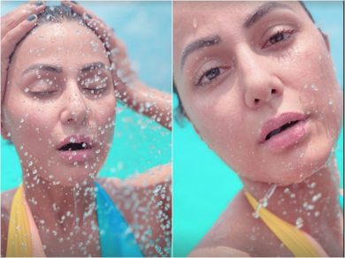 Hina Khan Looks Flawless Splashing Water On Face In These Stunning PICS From Maldives!