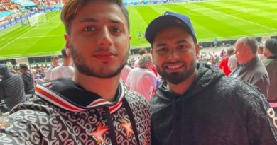 Rishabh Pant Shows Up At Jam-Packed Stadium To Watch England's Crucial Clash Against Germany