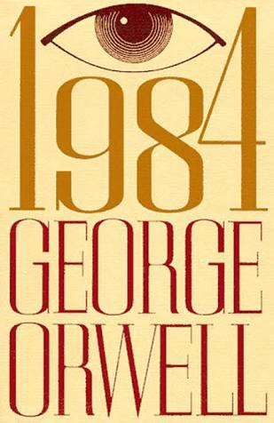 1984 By George Orwell Modern Cover Art