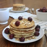 protein packed whole wheat almond pancake recipe