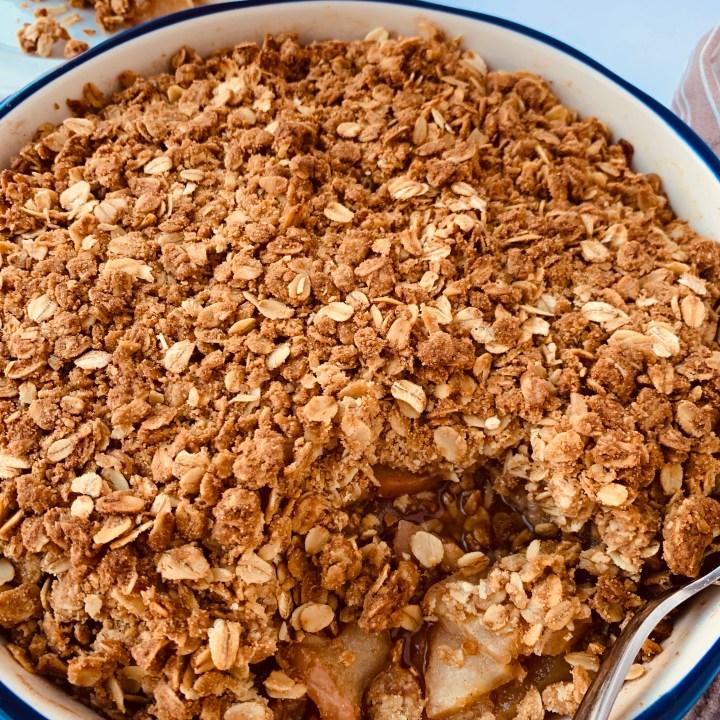 Oatmeal Apple Crisp