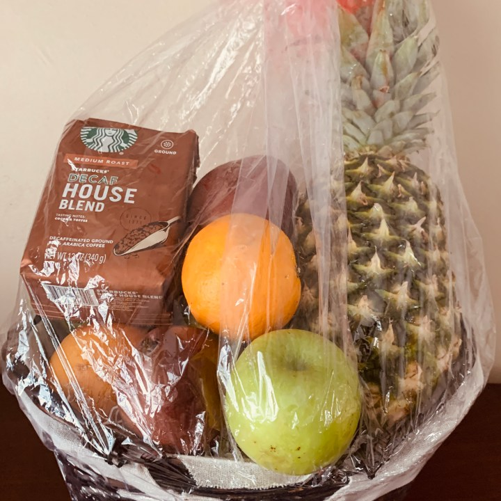 Building Fruit Baskets - Homemade Gift