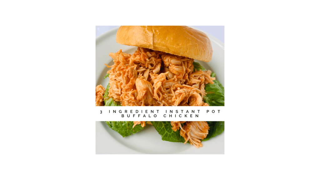 Shows the texture of the shredded buffalo chicken.