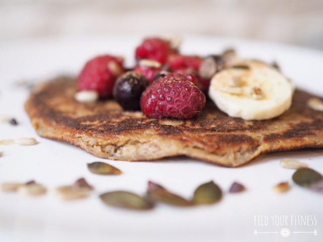Bananen Protein Pfannkuchen 6