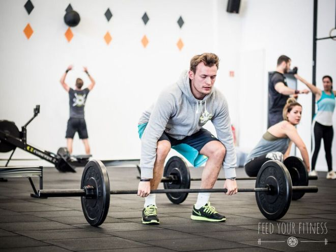 Valentinstag CrossFit Coaching Deadlift