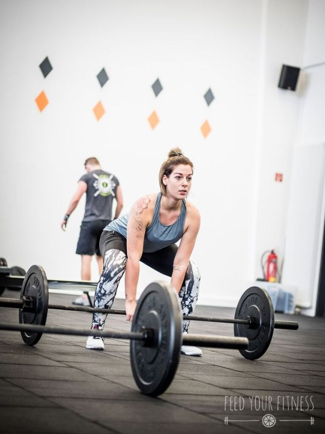 Valentinstag CrossFit Sumo Deadlift High Pull 2