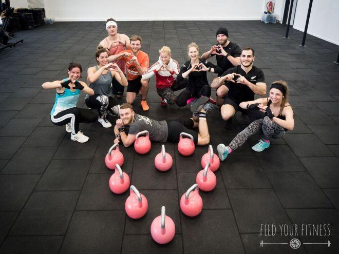 Valentinstag CrossFit WOD Team