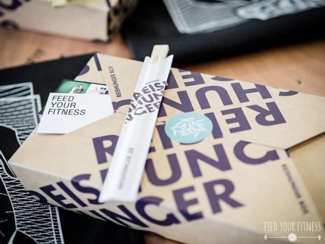 CrossFit Bloggertreffen Goodie Bags von Reishunger