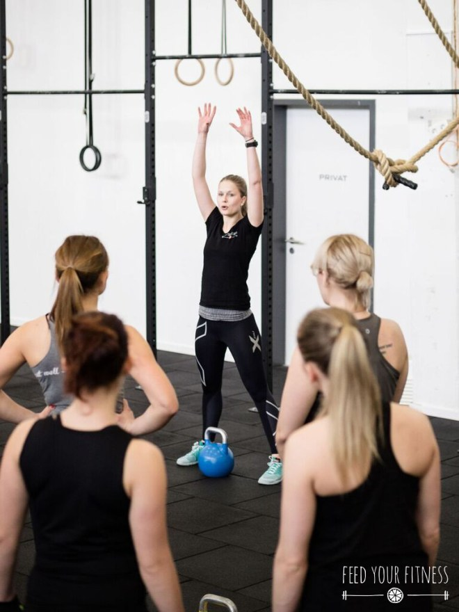 CrossFit Bloggertreffen von FEED YOUR FITNESS Coaching Kettlebell Swing