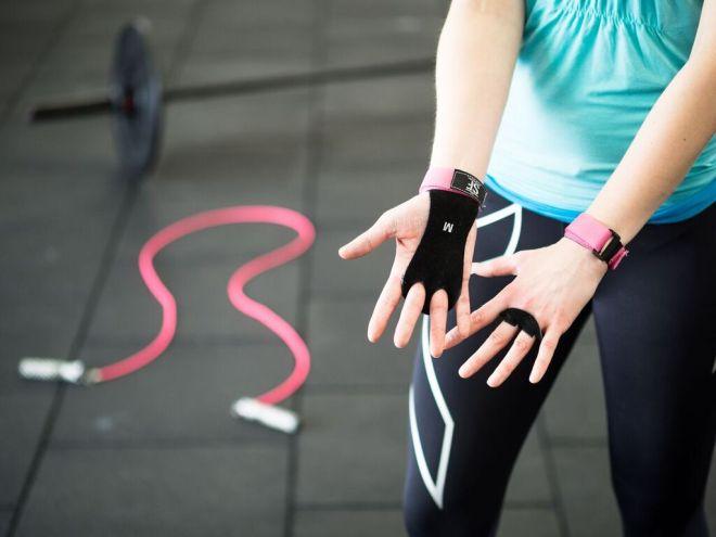 CrossFit Bloggertreffen von FEED YOUR FITNESS Gewinnspiel SUPRFIT Grips