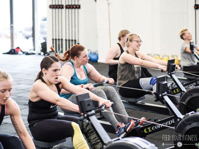 CrossFit Bloggertreffen von FEED YOUR FITNESS Rowing