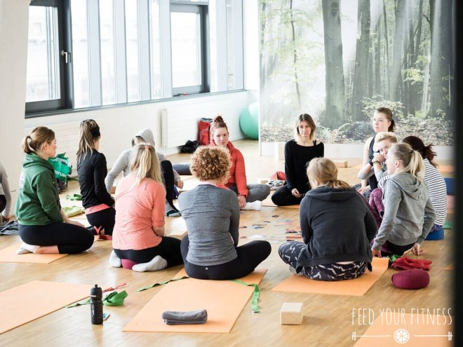 Instagram Bloggertreffen von FEED YOUR FITNESS Yoga Feedback
