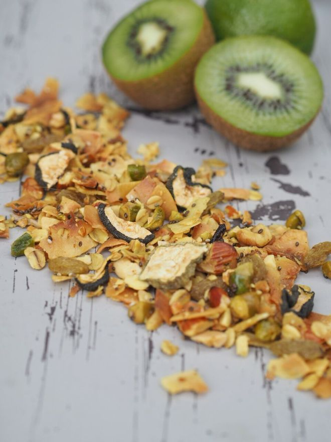 FEED YOUR FITNESS Sommer Granola mit Kiwi
