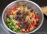 Raw Vegan Antipasto Salad