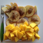 Mango Apple Snack