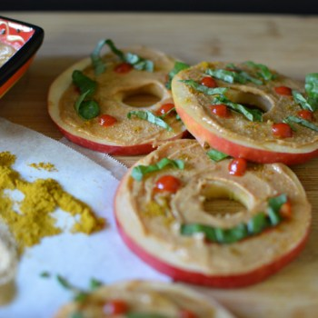 Spicy Thai Apple Snacks