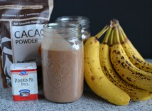 Chocolate Pumpkin Pie Spice Smoothie
