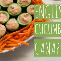 English Cucumber Canapés