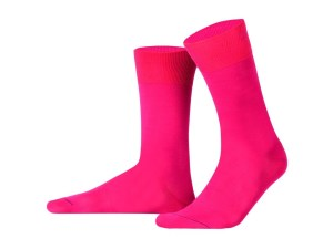 Egyptian cotton socks (fuschia), Luxury collection