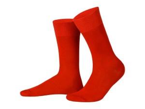 Шкарпетки з єгипетської бавовни (червоний), колекція luxury
