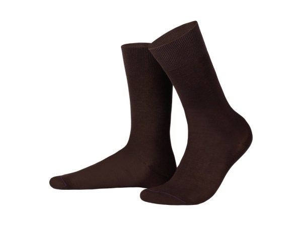 Egyptian cotton socks (chocolate), Luxury collection