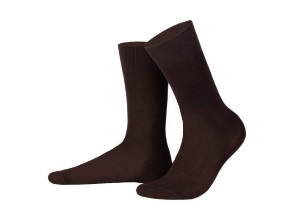 Шкарпетки з єгипетської бавовни (шоколадний), колекція luxury