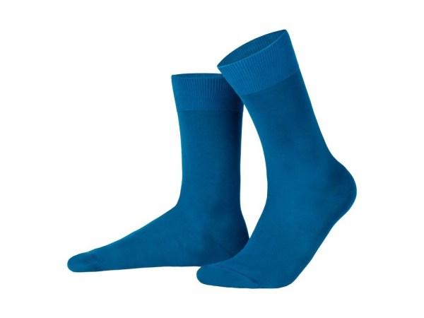 Egyptian cotton socks (dark turquoise), Luxury collection