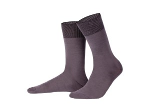 Egyptian cotton socks (grey), Luxury collection